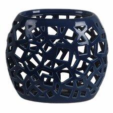 Pierced Ceramic Vase