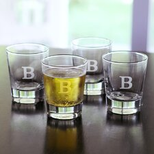 Gifts Double Old Fashioned Glass (Set of 4)