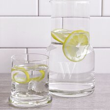2 Piece Personalized Bedside Water Carafe Set