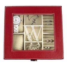 Personalized Leatherette Jewelry Box