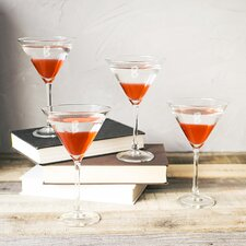 Personalized Spooky 10 Oz. Martini Glasses (Set of 4)