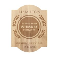 Personalized Whiskey Bar Sign Textual Art