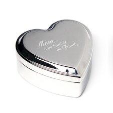 Mother's Day Heart Keepsakes Box
