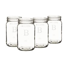 Personalized Mason Jar (Set of 4)