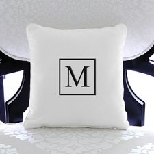 Personalized Cotton Throw Pillow