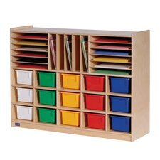 Mobile 32 Compartment Cubby