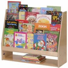 "Birch Book Display 25"" Bookcase"