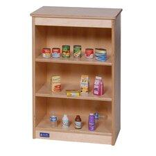Toddler Kitchen Shelves