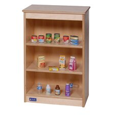 Toddler Kitchen Shelves
