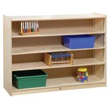 Mobile Adjustable Shelf Storage Unit