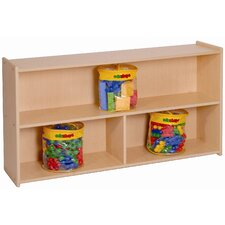 Two Shelf Storage with Divider