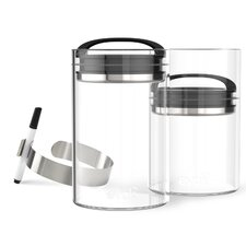 Evak 5-Piece Compact Food Storage Container Set (Set of 2)