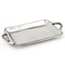 Arcadian Rope Handled Rectangular Serving Tray