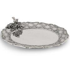 Trellis Oval Platter