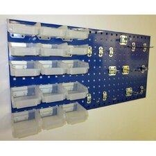 Locboard 12 Hook and 15 Bin Kit
