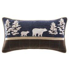 Clairmont Bear Lumbar Pillow
