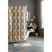 Mosaic Leaves Shower Curtain