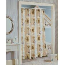 Spa Leaf Shower Curtain