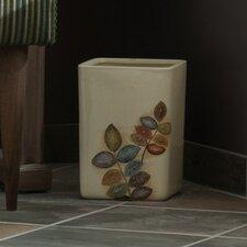 Mosaic Leaves Waste Basket