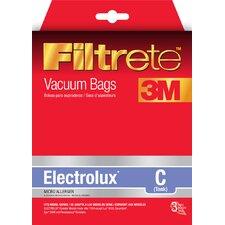 Electrolux Size C Filtrete Vacuum Bags (Set of 3)