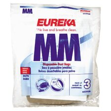 Type MM Vacuum Cleaner Canister Bag (Set of 6)