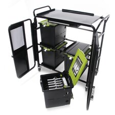 Tech Tub™ 24-Compartment Tablet Storage Cart