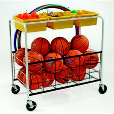 Phys Ed Equipment Utility Cart