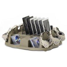 Multimedia Tabletop Storage
