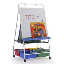Royal Classic Reading/Writing Free-Standing Whiteboard, 3' H x 2' W