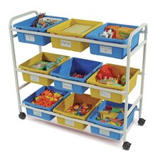 Multi-Purpose Cart with Tubs