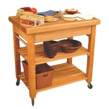 French Country Kitchen Cart