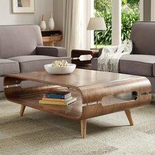 Lounge Coffee Table with Magazine Rack
