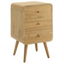 Home Office 3-Drawer Mobile Pedestal Vertical Filing Cabinet