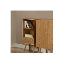 Home Office Low Narrow 99.5cm Standard Bookcase