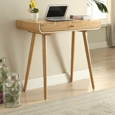 Spindle Computer Desk with Draw