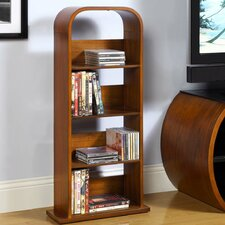 Curve Multimedia Storage Rack