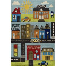 Lil Mo Whimsy Town Kids Area Rug