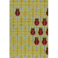 Lil Mo Whimsy Lady Bug Kids Rug