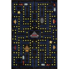 Lil Mo Whimsy Space Game Kids Area Rug