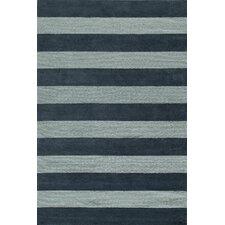 Classic Dark Blue & Light Blue Area Rug