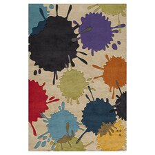 Lil Mo Hipster Ivory Sport Kids Area Rug