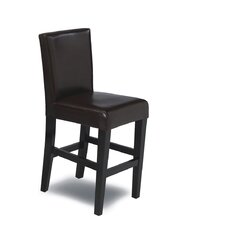 "Mendon 24"" Bar Stool with Cushion"