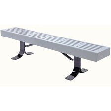 Slatted Steel Picnic Bench