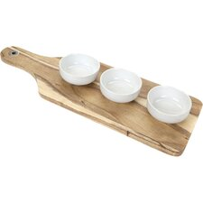 Bistro & CO Kainuu Acacia Mezze Serving Board