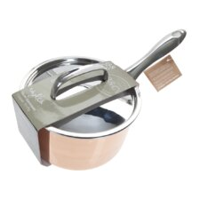 Roykka Bistro & Co Copper Tri-Ply Saucepan with Lid