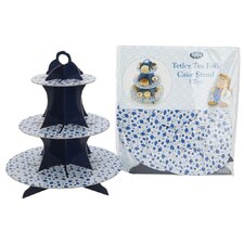 Tetley Tea Folk Three Tier Cardboard Cake Stand