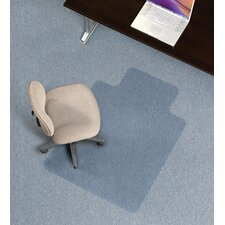 Economy Low Pile Carpet Straight Edge Chair Mat