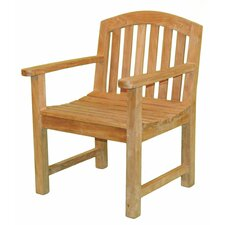 Fanback Garden Chair with Arms