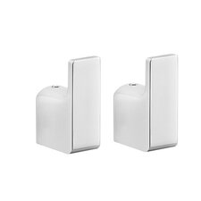 Pirenei Wall Mounted Bathroom Robe Hook (Set of 2)