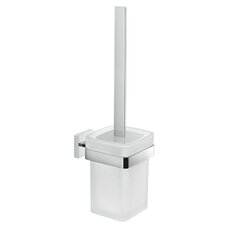 Elba Wall MountedToilet Brush and Holder